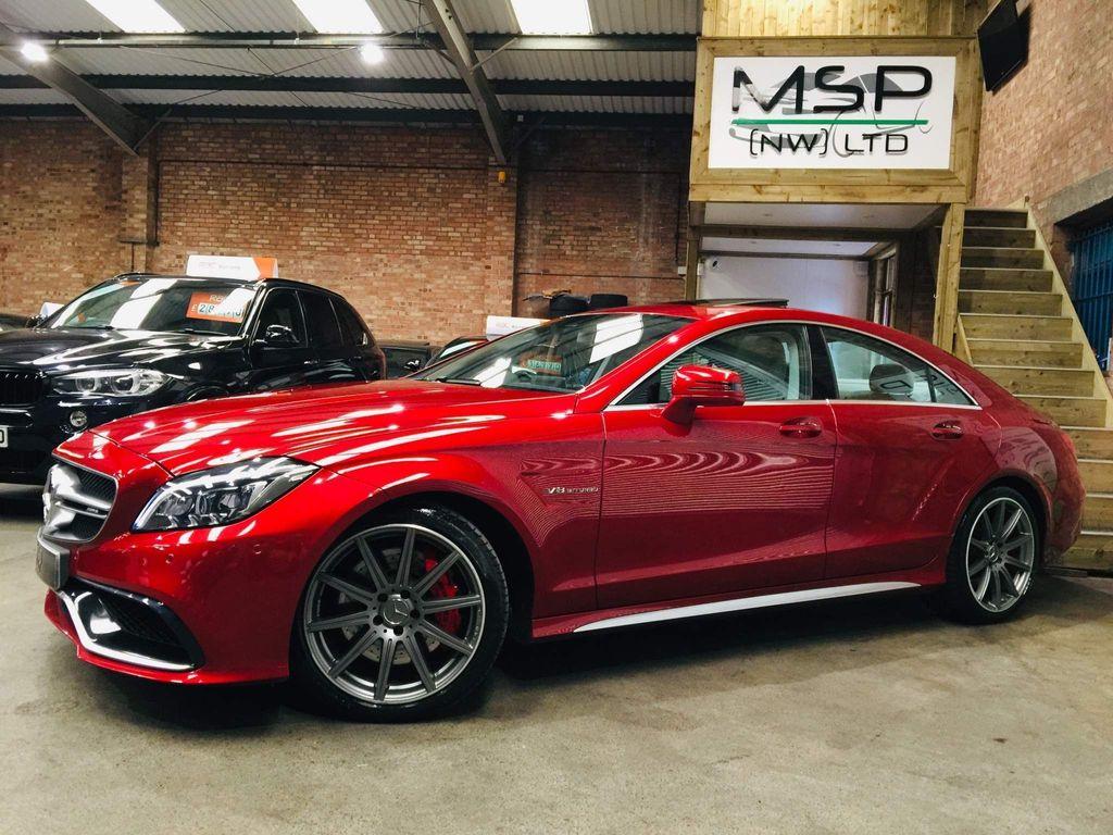Mercedes-Benz CLS Coupe 5.5 CLS63 V8 AMG S SpdS MCT (s/s) 4dr