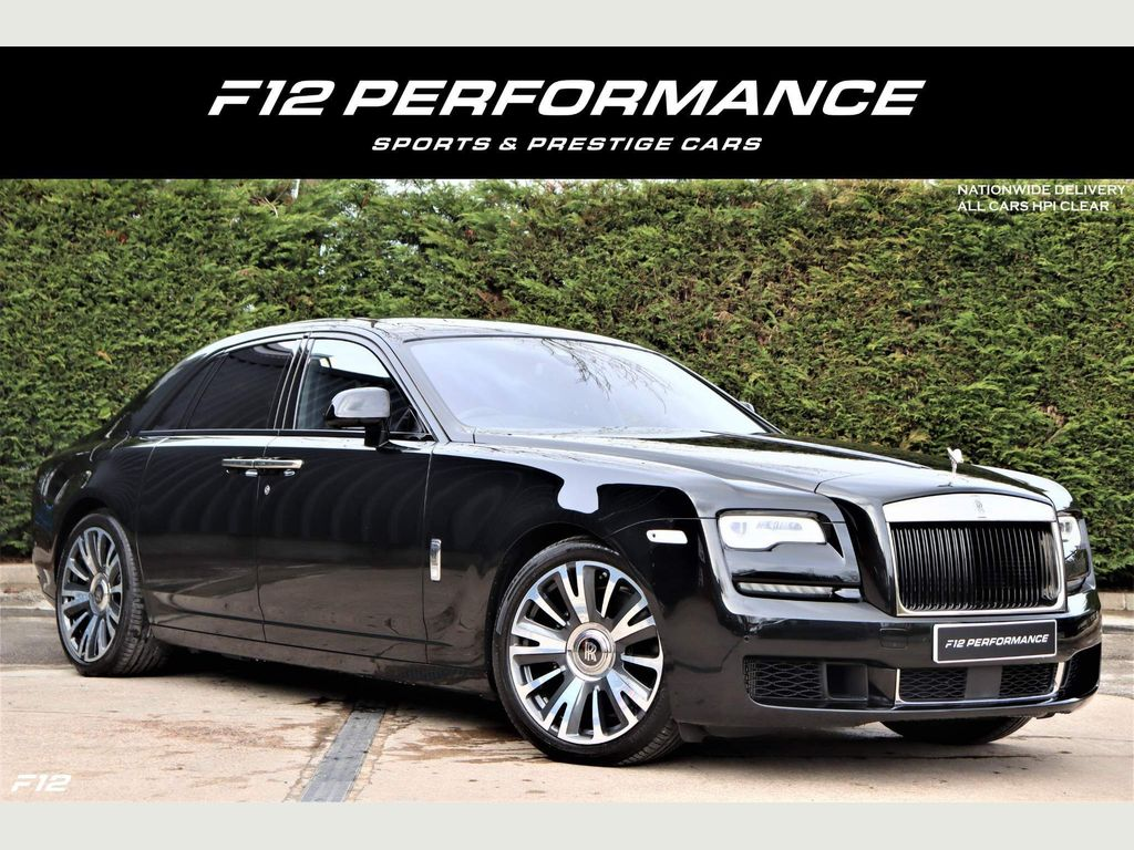 Rolls-Royce Ghost Saloon 6.6 V12 Auto 4dr