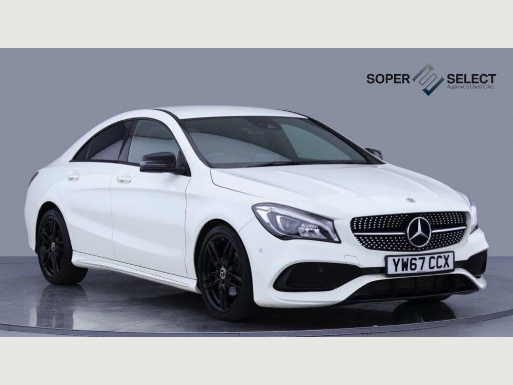 Mercedes-Benz CLA Class Coupe 1.6 CLA180 AMG Line 7G-DCT (s/s) 4dr