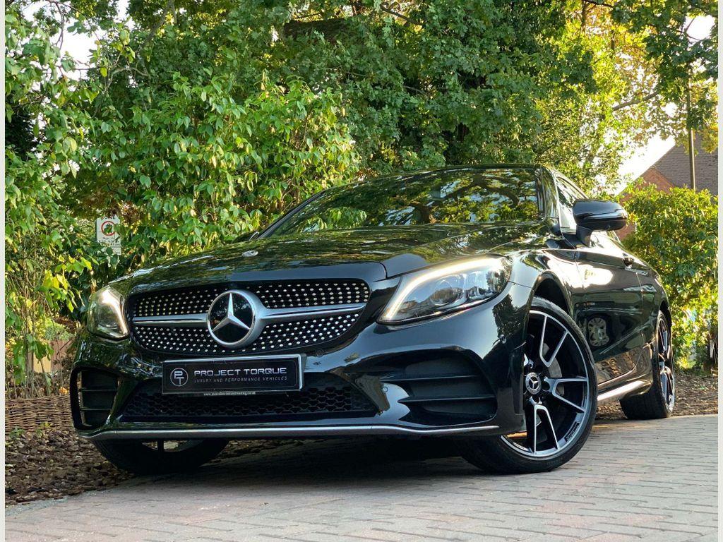 Mercedes-Benz C Class Coupe 2.0 C300 AMG Line (Premium Plus) G-Tronic+ (s/s) 2dr