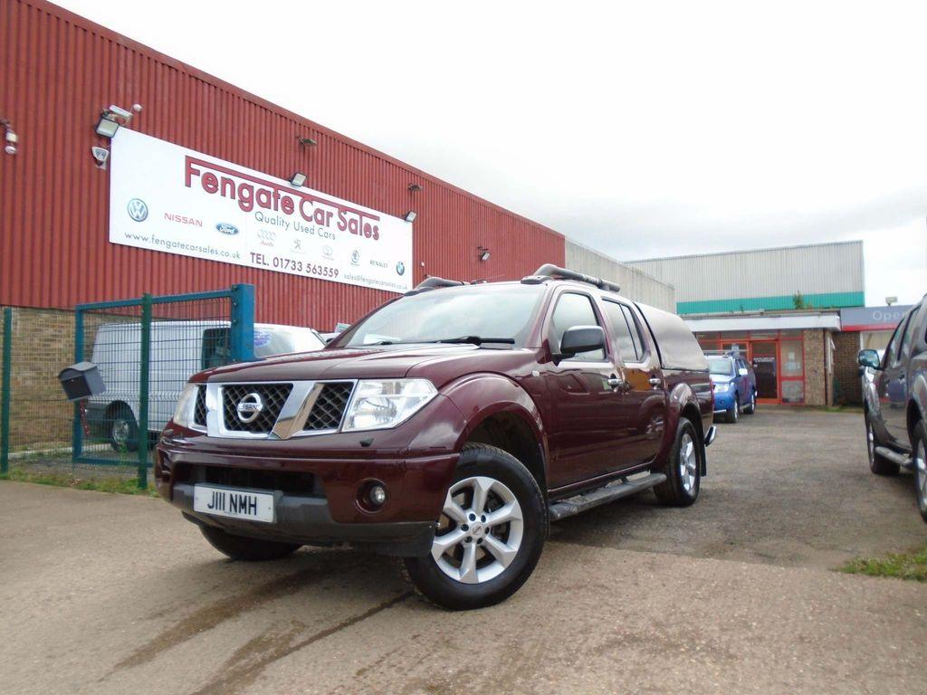 Nissan Navara Pickup 2.5 dCi Aventura Crewcab Pickup 4dr