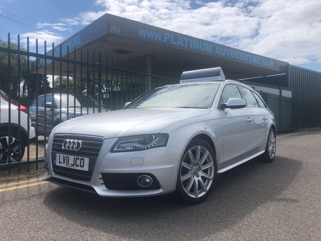 Audi A4 Avant Estate 2.0 TDI S line quattro 5dr