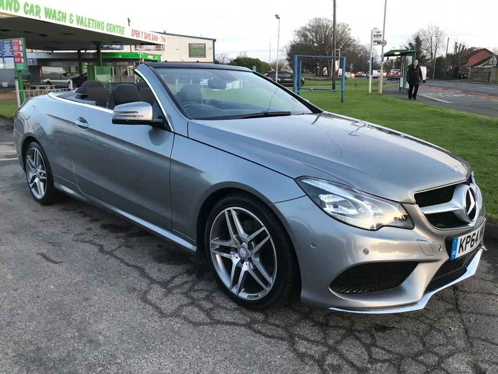 Mercedes-Benz E Class Convertible 3.0 E350 CDI BlueTEC AMG Line Cabriolet 9G-Tronic Plus 2dr