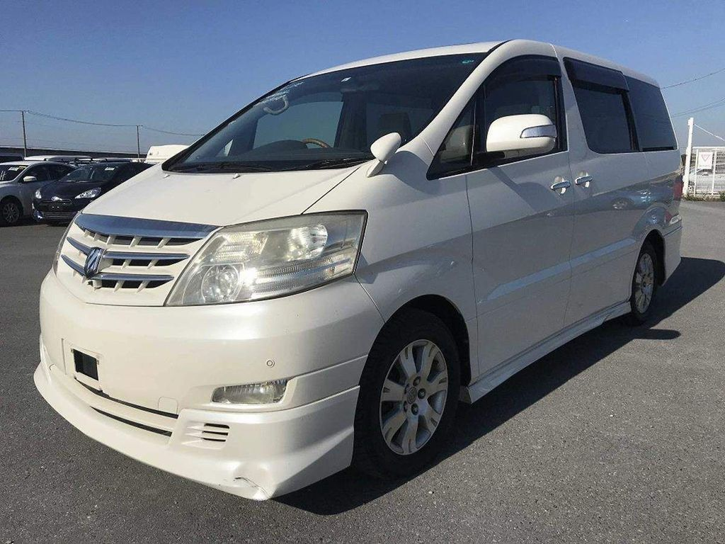 Toyota Alphard MPV 3.0 MZ 4WD with mobility seat