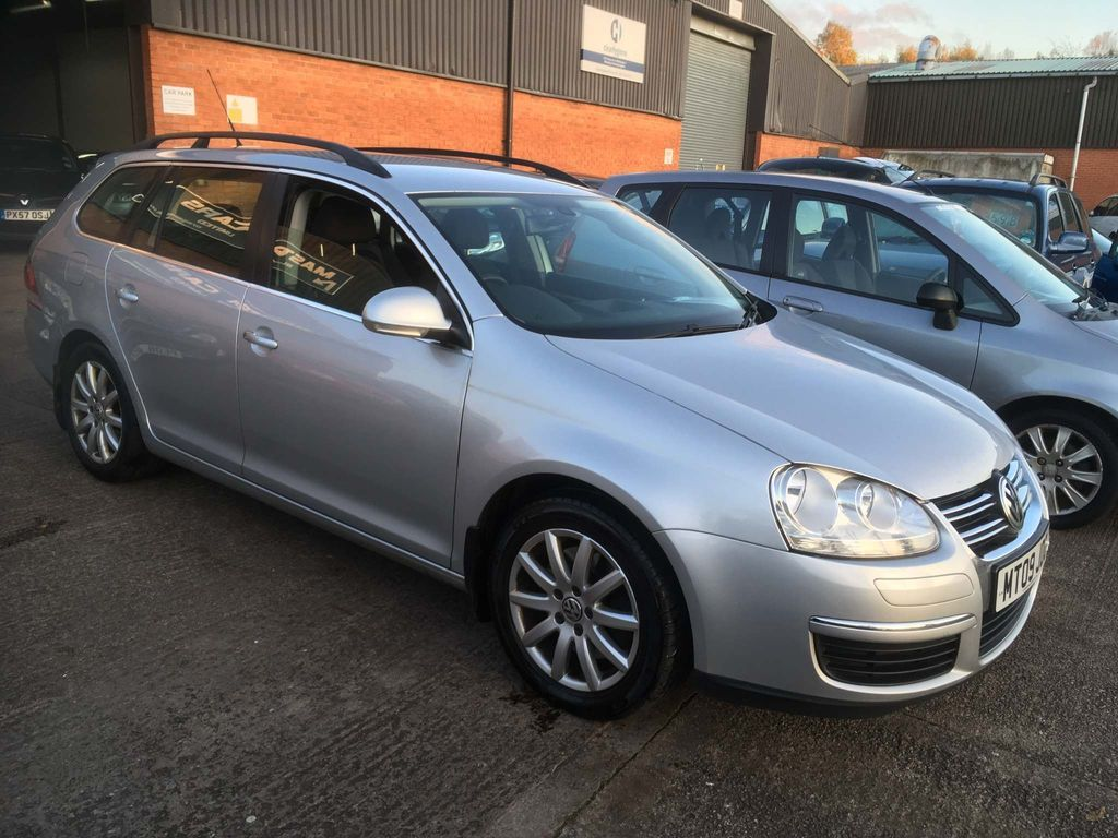 VOLKSWAGEN GOLF Estate 2.0 TDI CR SE 5dr