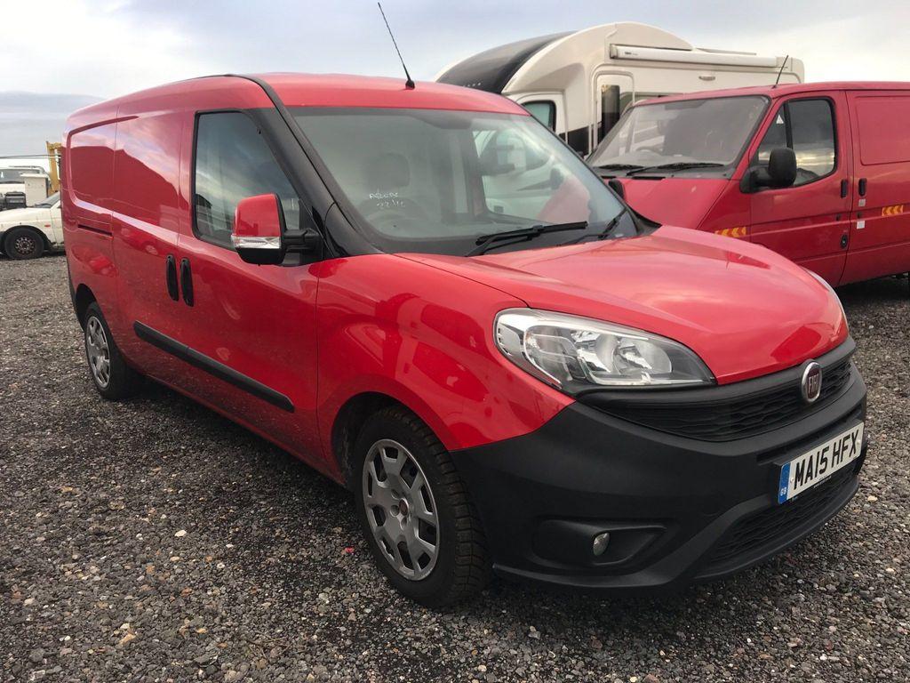 Fiat Doblo Panel Van 1.6 MultiJet Maxi SX Comfort-Matic L2 H1 EU5 (s/s) 6dr
