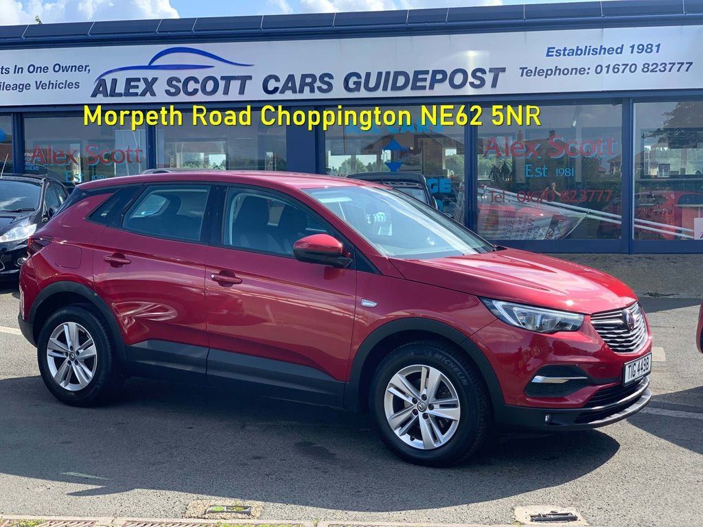 Vauxhall Grandland X SUV 1.6 Turbo D BlueInjection SE (s/s) 5dr
