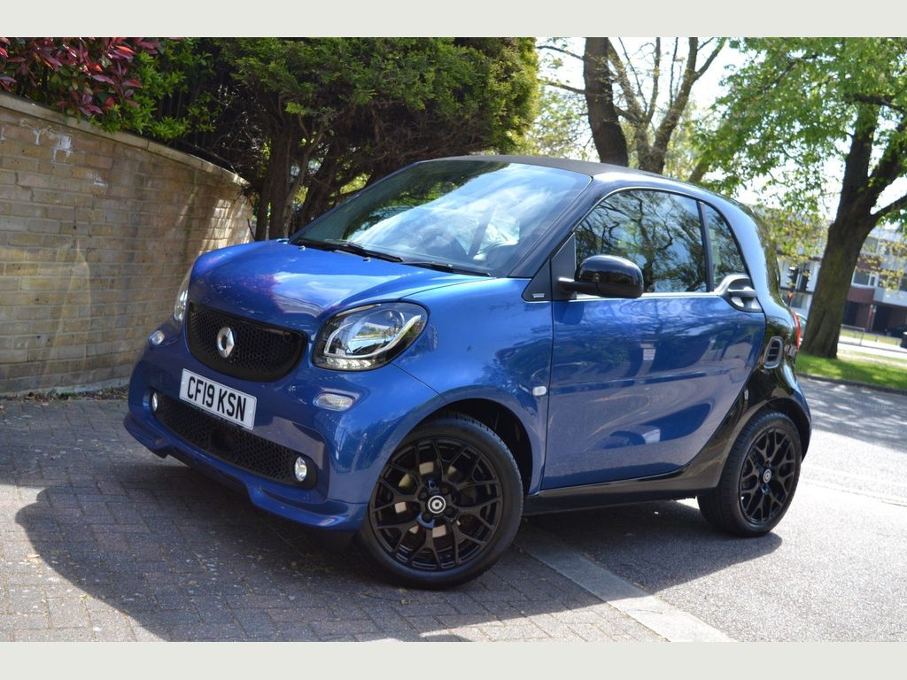 Smart fortwo Coupe 0.9T Urbanshadow Twinamic (s/s) 2dr