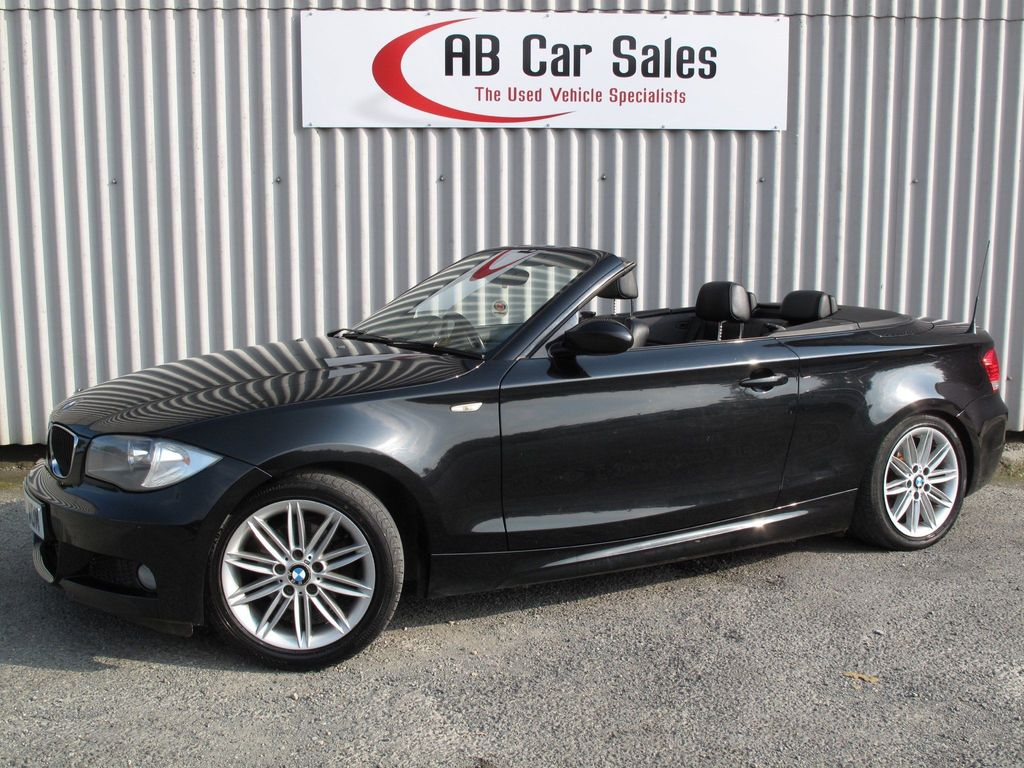 BMW 1 Series Convertible 2.0 118i M Sport 2dr