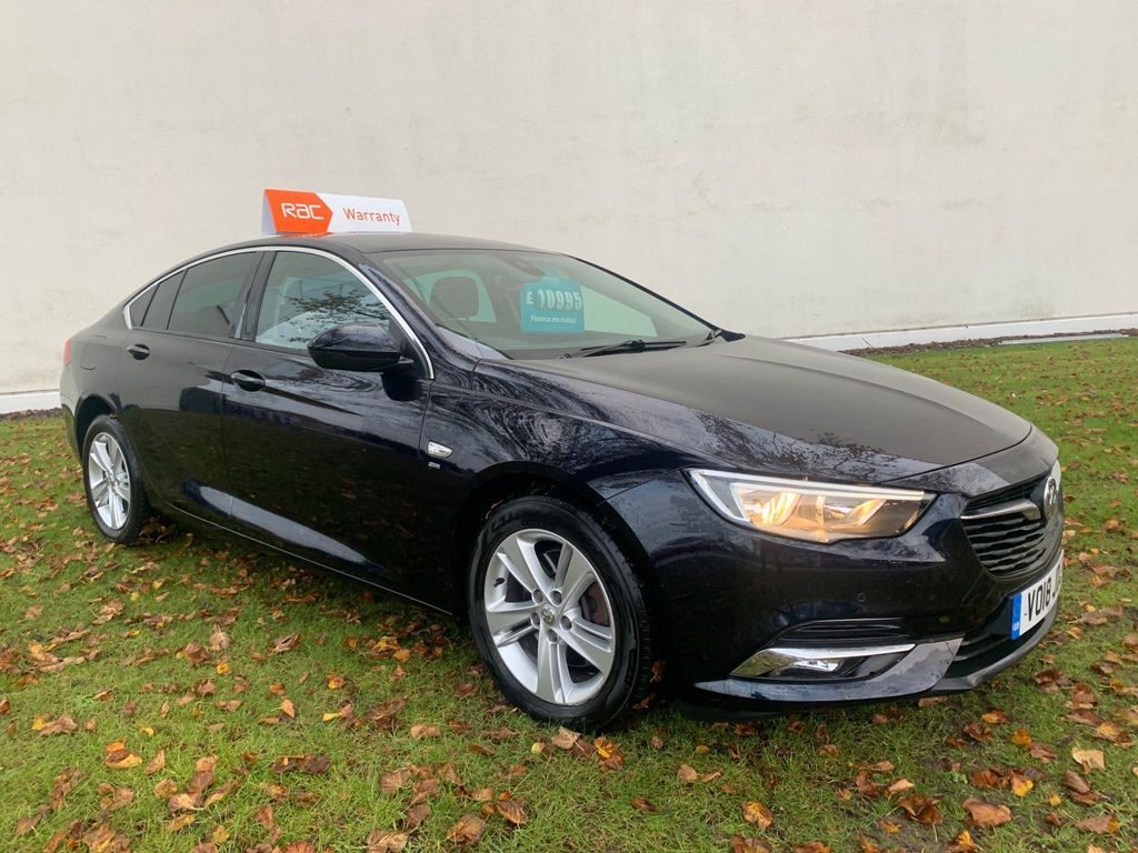 Vauxhall Insignia Hatchback 2.0 Turbo D BlueInjection SRi Grand Sport (s/s) 5dr