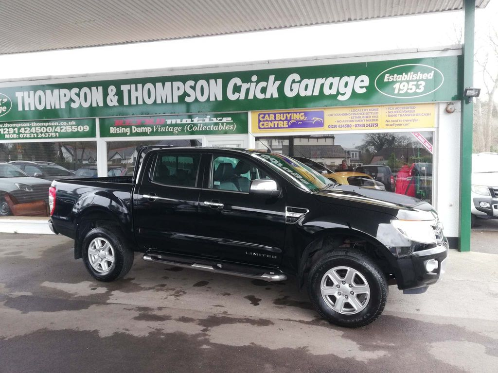 Ford Ranger Pickup 2.2TDCI Limited 150 4WD AUTOMATIC