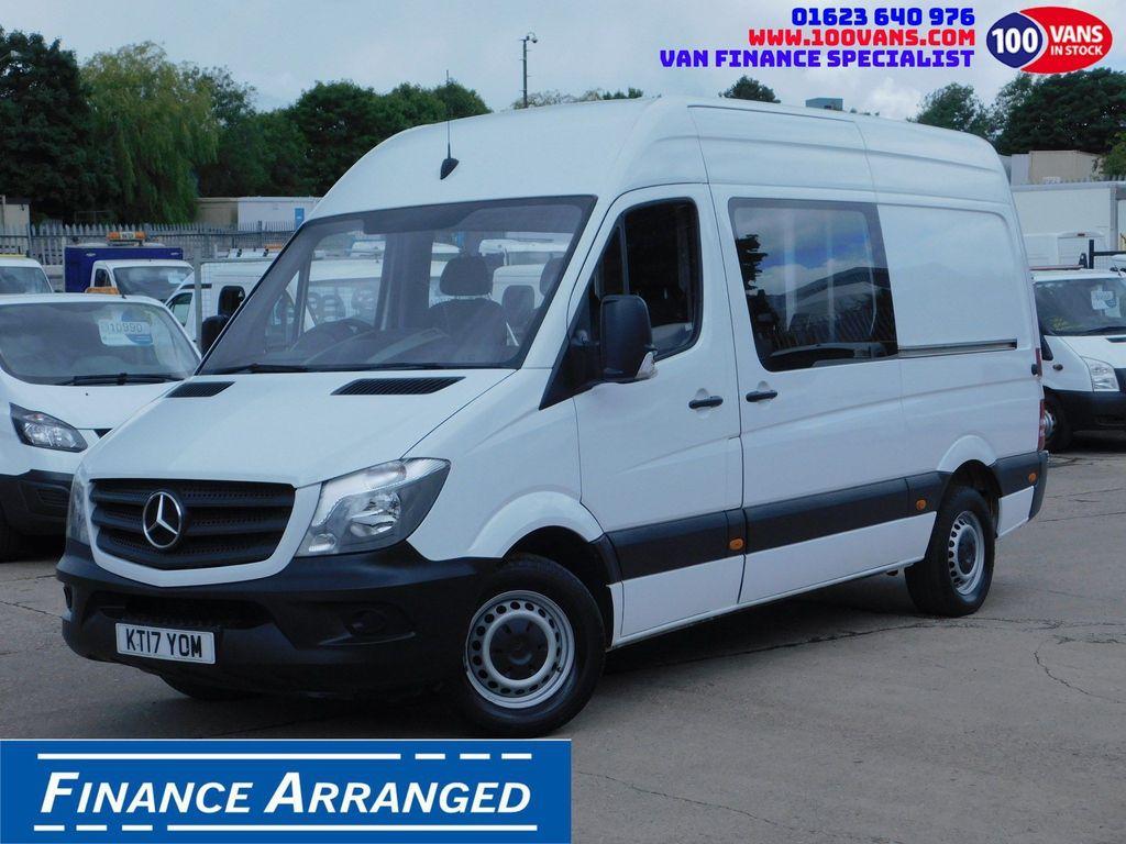 Mercedes-Benz Sprinter Combi Van 2.1CDI 314 130PS EU6 CREW VAN F/S/H