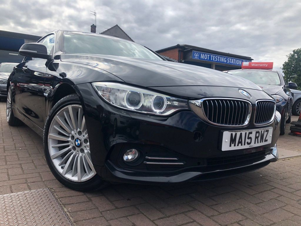 BMW 4 Series Gran Coupe Saloon 2.0 420d Luxury Gran Coupe xDrive (s/s) 5dr