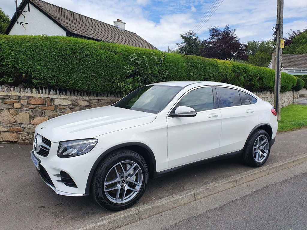 Mercedes-Benz GLC Class Coupe 2.1 GLC250d AMG Line G-Tronic 4MATIC (s/s) 5dr