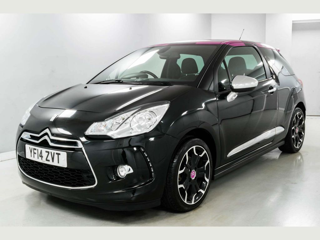 Citroen DS3 Hatchback 1.6 THP DSport Pink 3dr