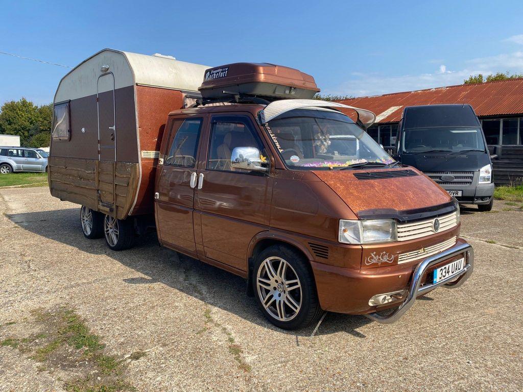 Volkswagen Unlisted Vehicle Transporter Crew cab LWB 2.5 TDI