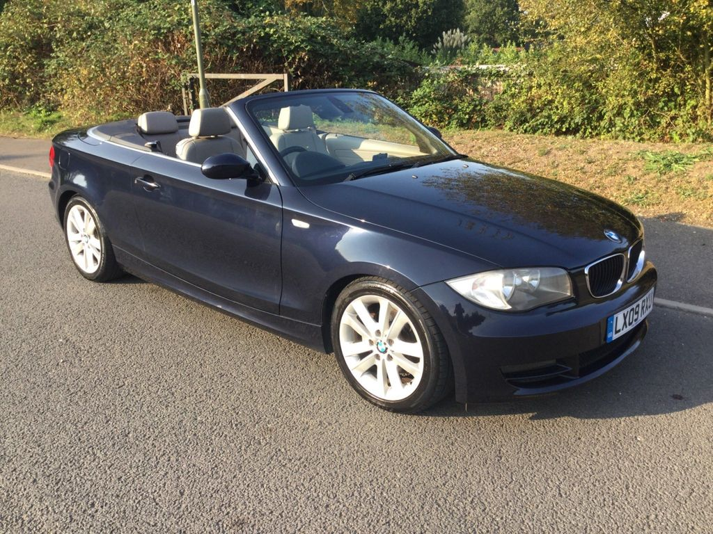BMW 1 Series Convertible 3.0 125i SE Auto 2dr