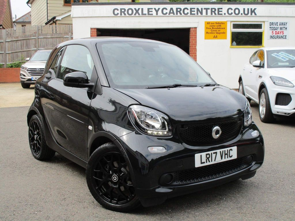 Smart fortwo Coupe 1.0 Edition Black (s/s) 2dr