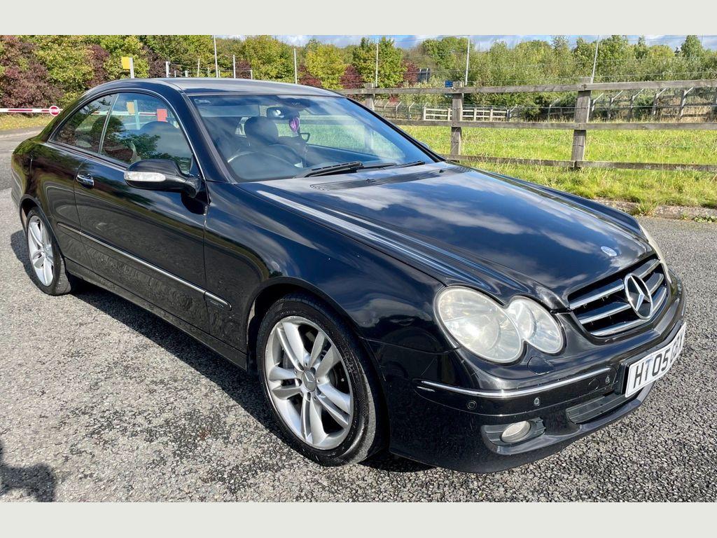 Mercedes-Benz CLK Coupe 3.0 CLK320 CDI Avantgarde 7G-Tronic 2dr