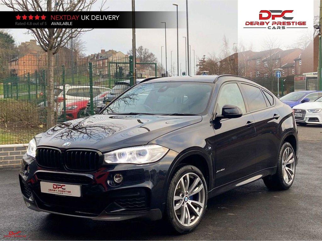 BMW X6 SUV 3.0 40d M Sport Auto xDrive (s/s) 5dr