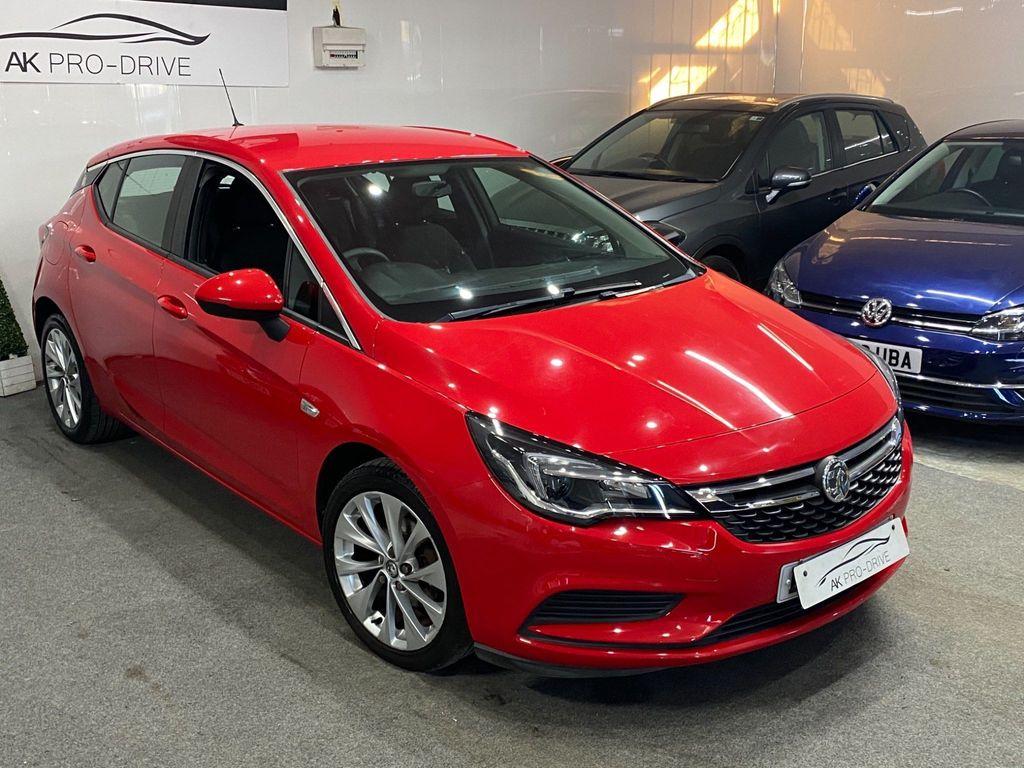 Vauxhall Astra Hatchback 1.0i Turbo ecoFLEX Design (s/s) 5dr