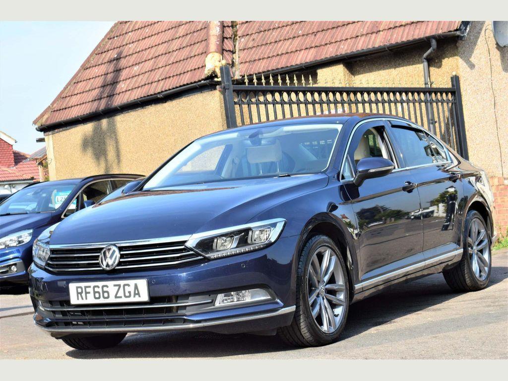 Volkswagen Passat Saloon 2.0 TDI BlueMotion Tech GT DSG (s/s) 4dr