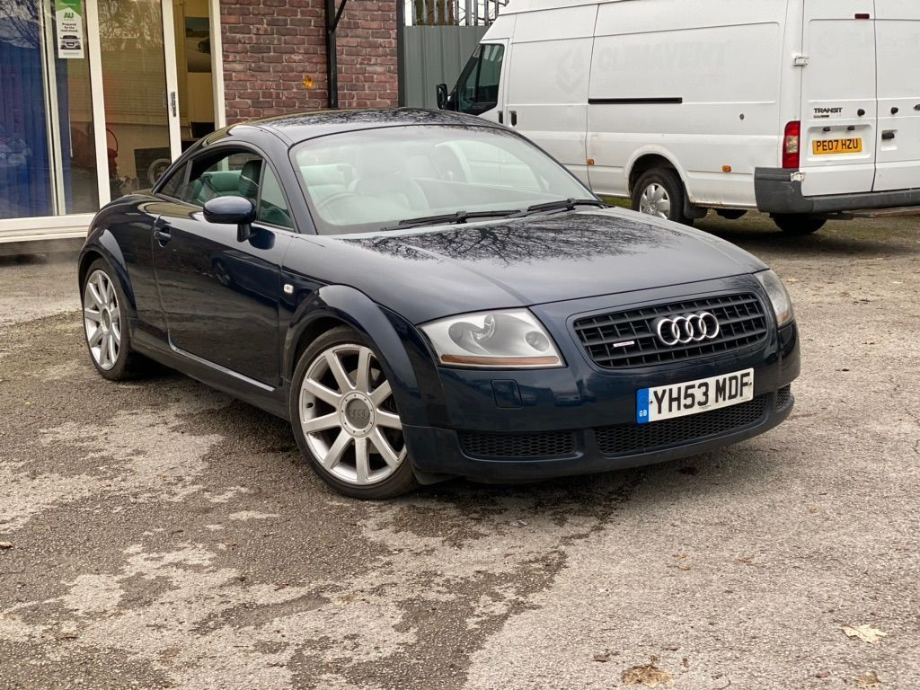 Used Audi Tt Coupe 1.8 T Quattro 2dr in Manchester ...