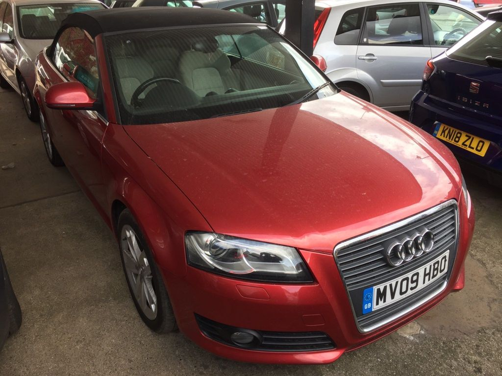 Audi A3 Cabriolet Convertible 2.0 TDI Sport Cabriolet S Tronic 2dr