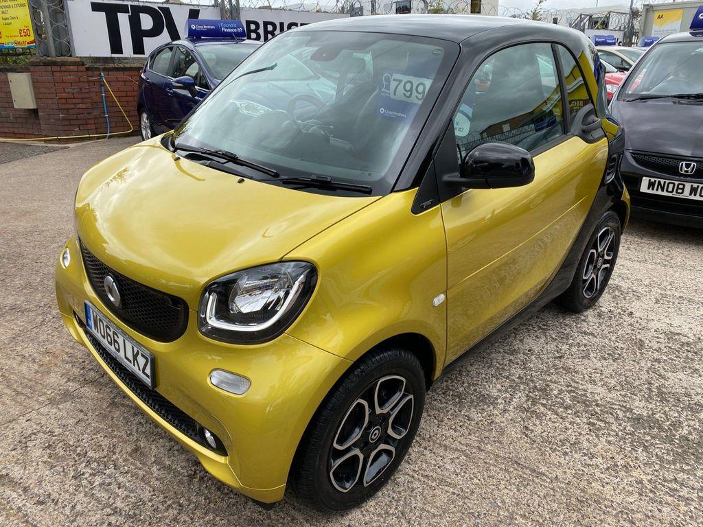 Smart fortwo Coupe 1.0 Prime (Premium Plus) (s/s) 2dr