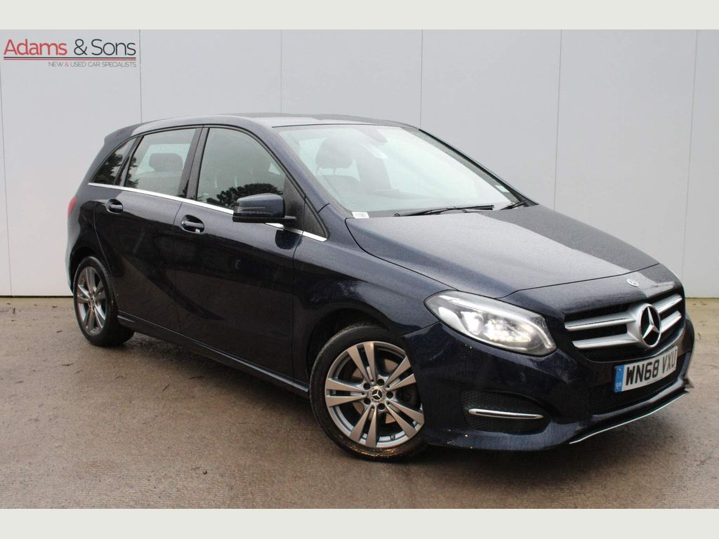 Mercedes-Benz B Class MPV 1.6 B180 Exclusive Edition 7G-DCT (s/s) 5dr