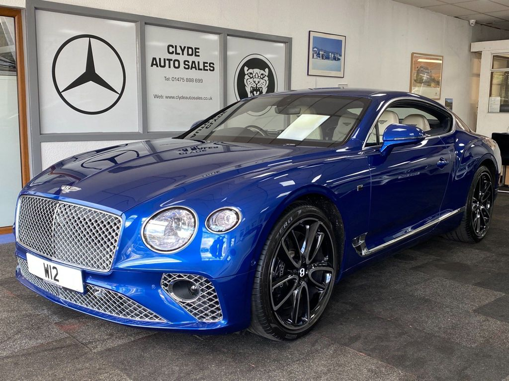 Bentley Continental Coupe 6.0 W12 GT First Edition Auto 4WD 2dr