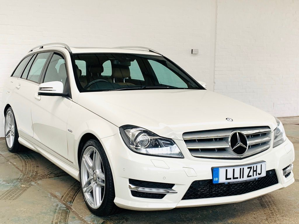 Mercedes-Benz C Class Estate 2.1 C250 CDI BlueEFFICIENCY Sport G-Tronic 5dr