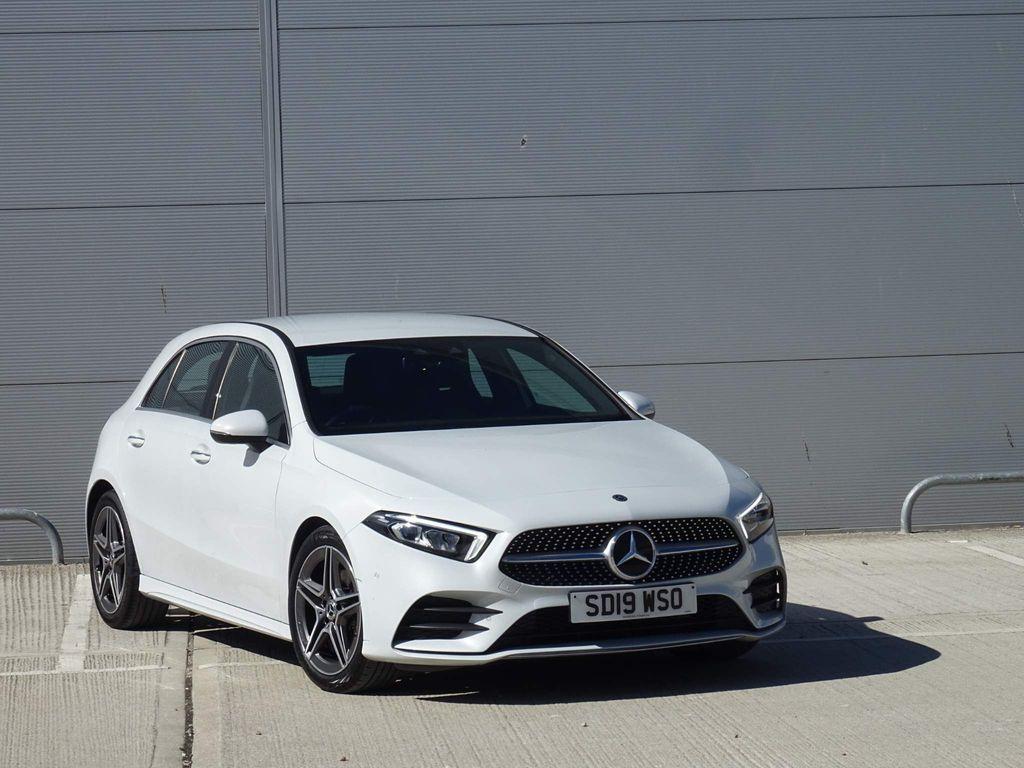 Mercedes-Benz A Class Hatchback 1.3 A200 AMG Line (Premium) 7G-DCT (s/s) 5dr
