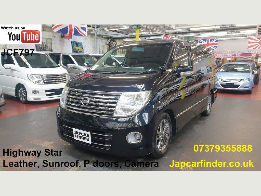Nissan Elgrand MPV Highway Star Sunroof Curtains Recliner