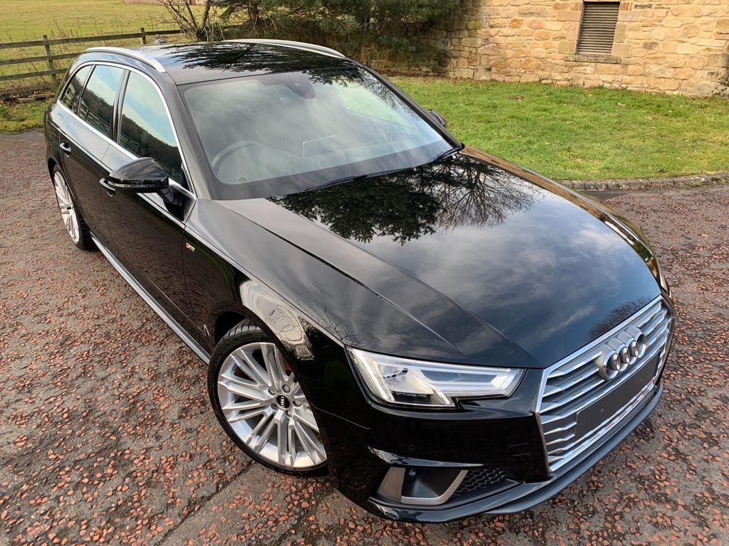 Audi A4 Avant Estate 2.0 TFSI 40 S line Avant S Tronic (s/s) 5dr