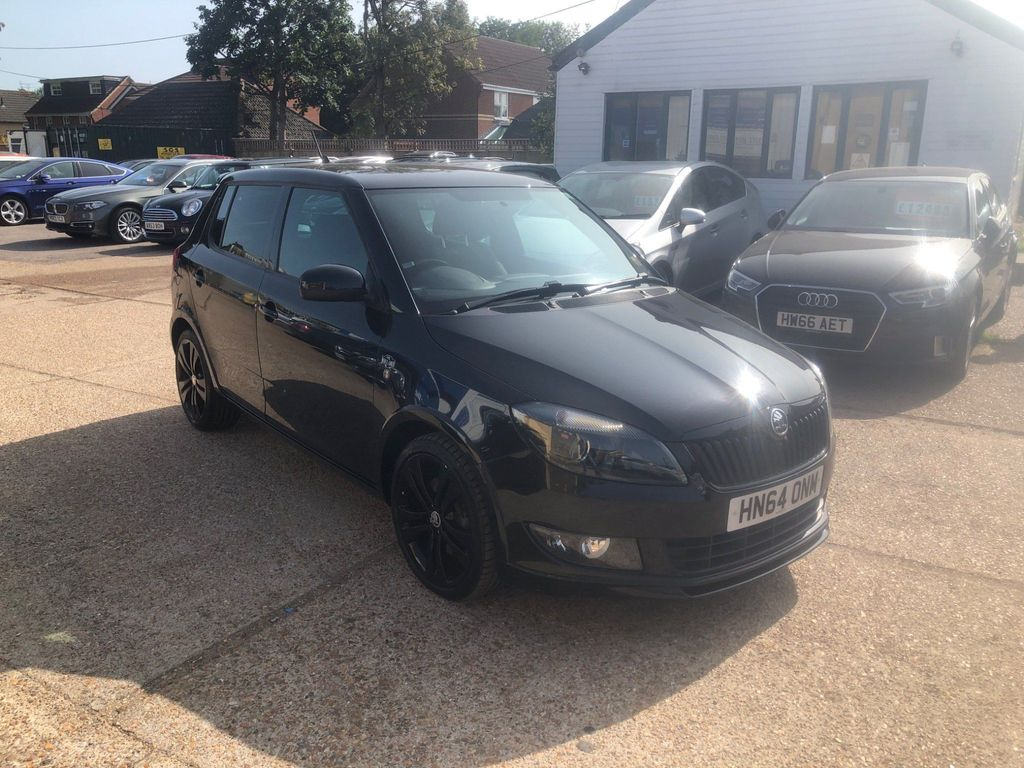 SKODA Fabia Hatchback 1.2 TSI Black Edition 5dr
