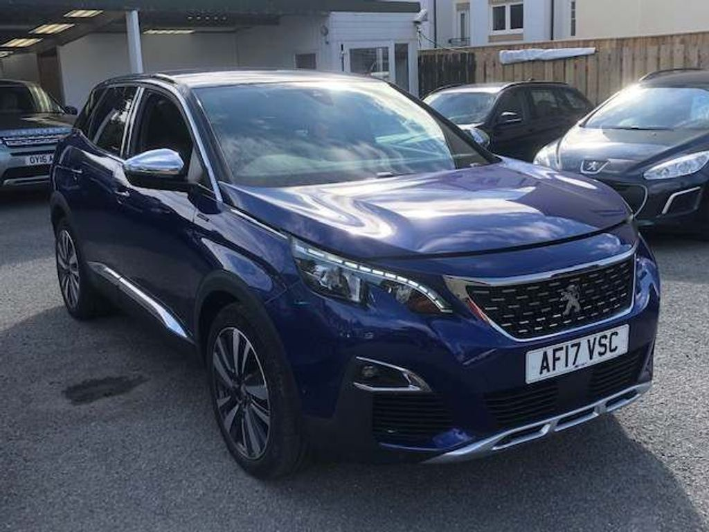Peugeot 3008 SUV 1.6 BlueHDi GT Line EAT (s/s) 5dr