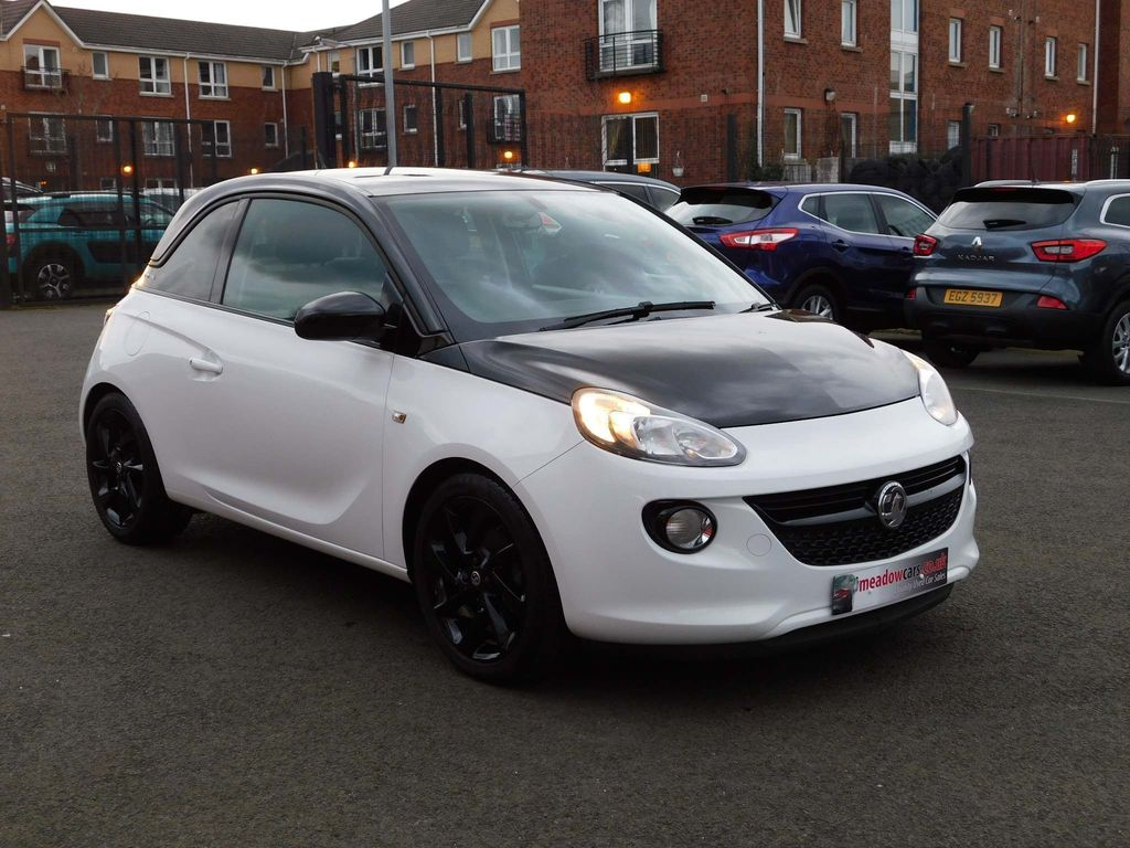 Vauxhall ADAM Hatchback 1.2i ENERGISED Black Jack 3dr