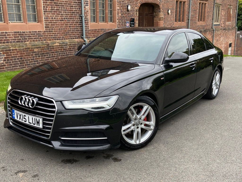 Audi A6 Saloon Saloon 2.0 TDI ultra S line S Tronic (s/s) 4dr