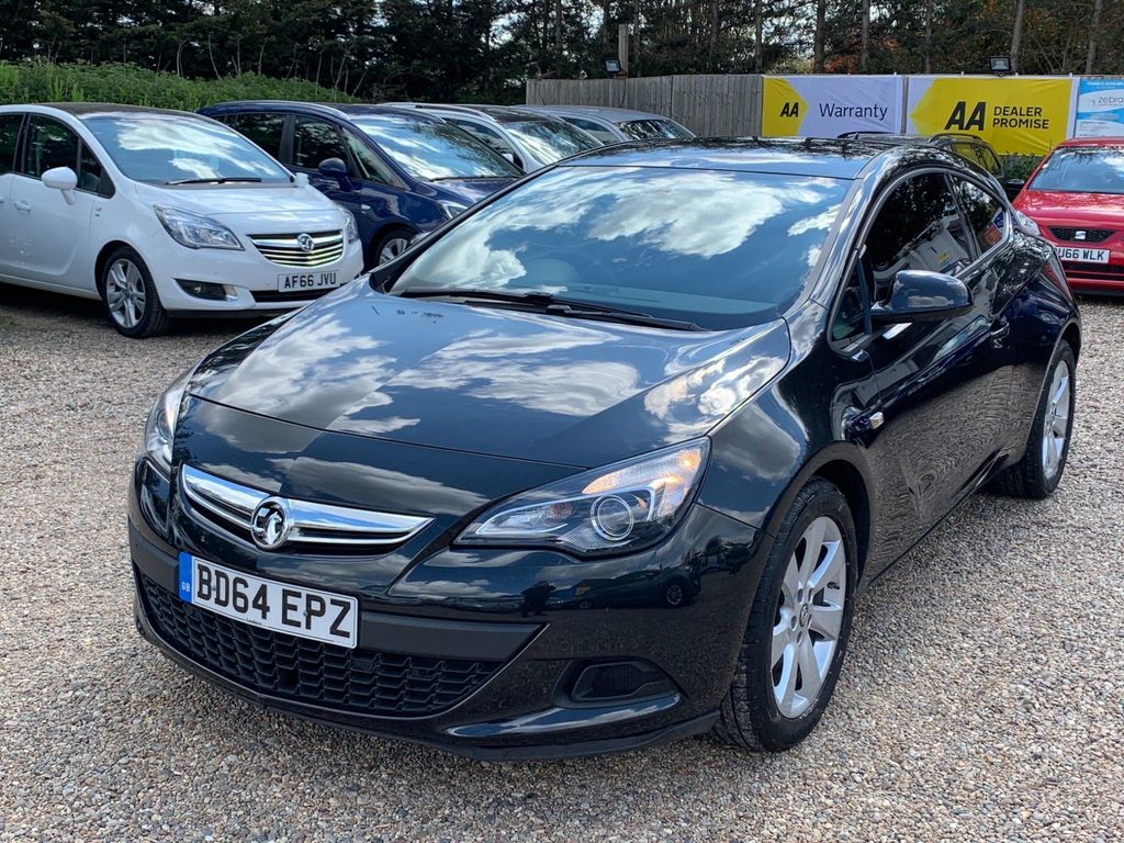 Vauxhall Astra GTC Coupe 1.4T Sport Auto 3dr