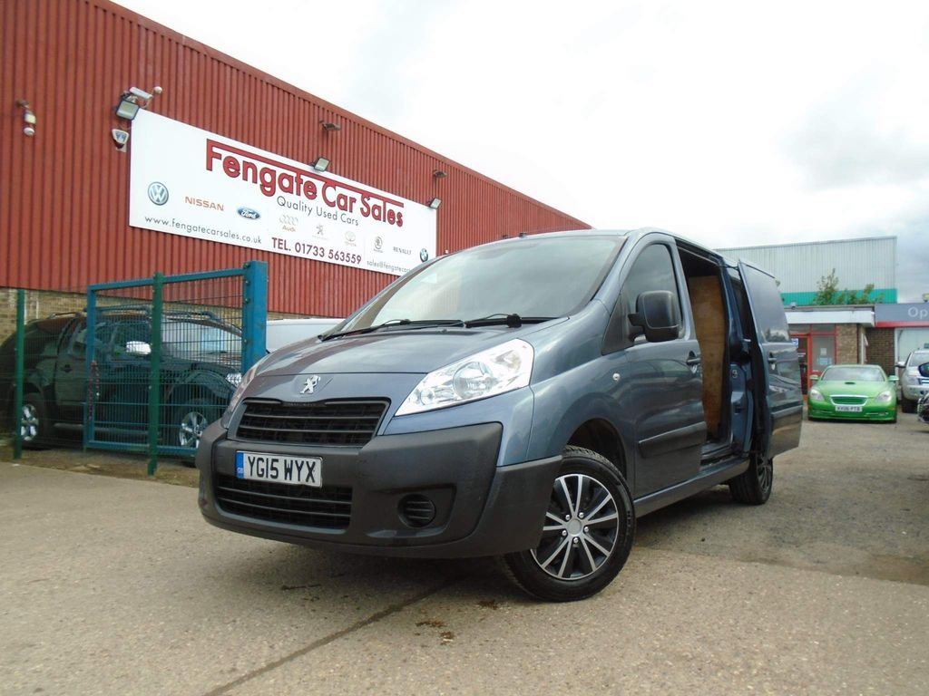 Peugeot Expert Panel Van 2.0 HDi (EU5) L1 H1 SWB 4dr