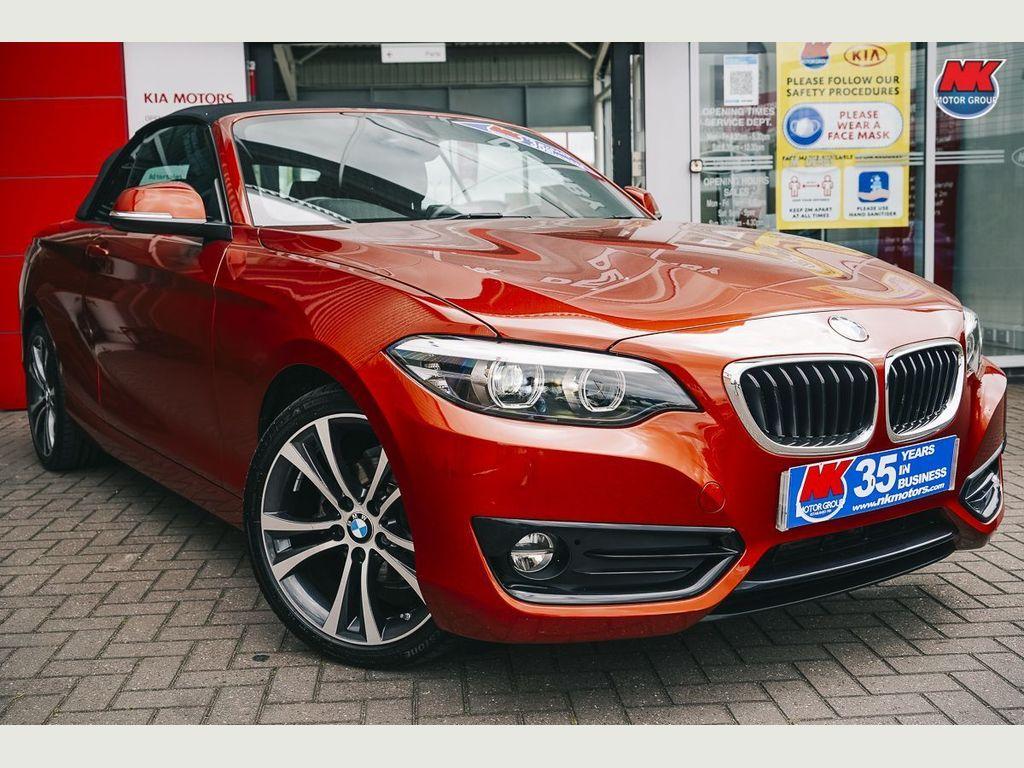 BMW 2 Series Convertible 2.0 218d Sport Auto (s/s) 2dr