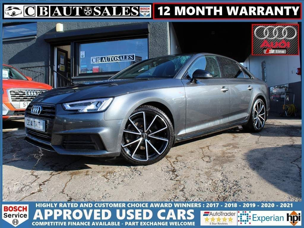 Audi A4 Saloon 2.0 TFSI Black Edition S Tronic (s/s) 4dr