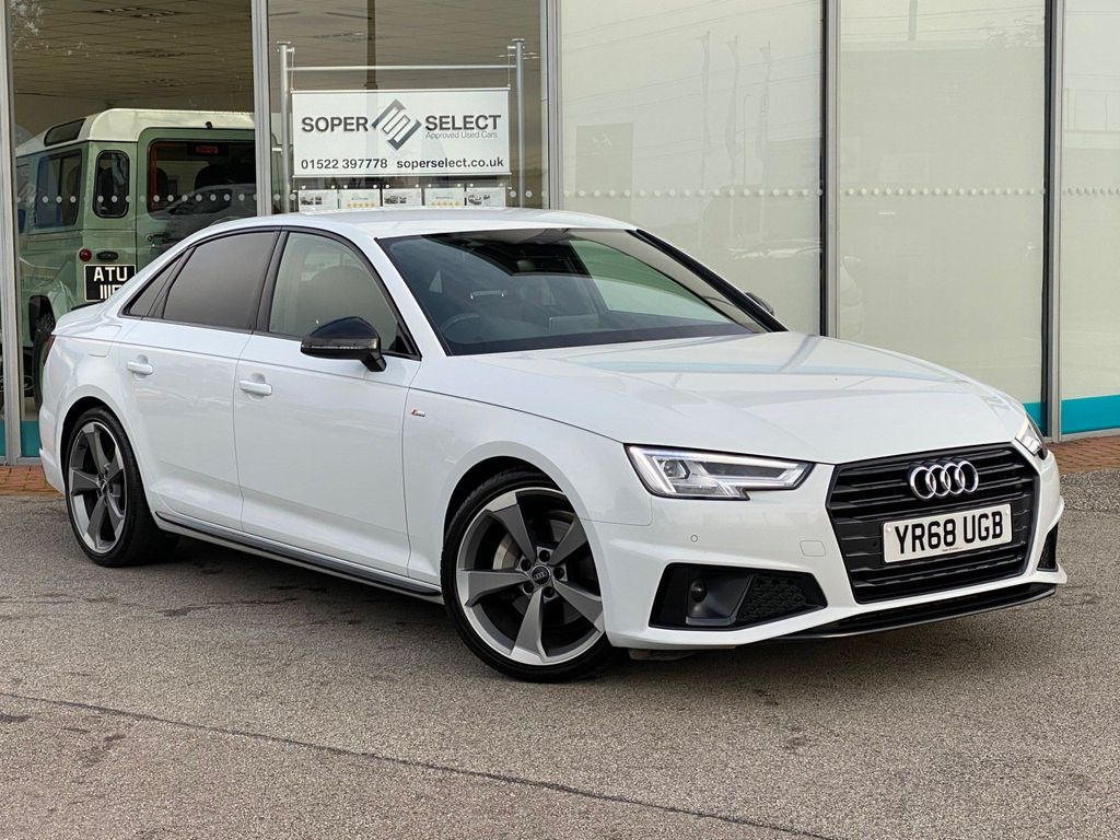 Audi A4 Saloon 2.0 TDI 40 Black Edition S Tronic (s/s) 4dr