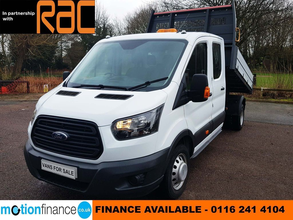 Ford Transit Tipper 7 SEATER DOUBLE-CAB/CREW-CAB TIPPER