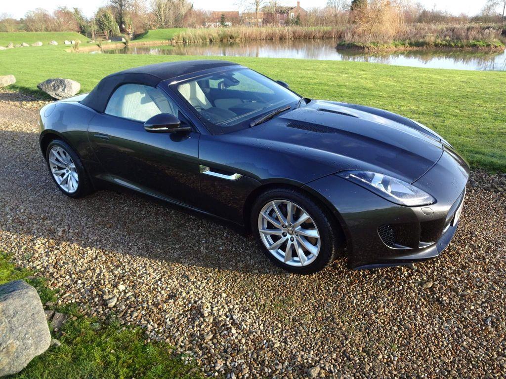 Jaguar F-Type Convertible 3.0 V6 Quickshift 2dr