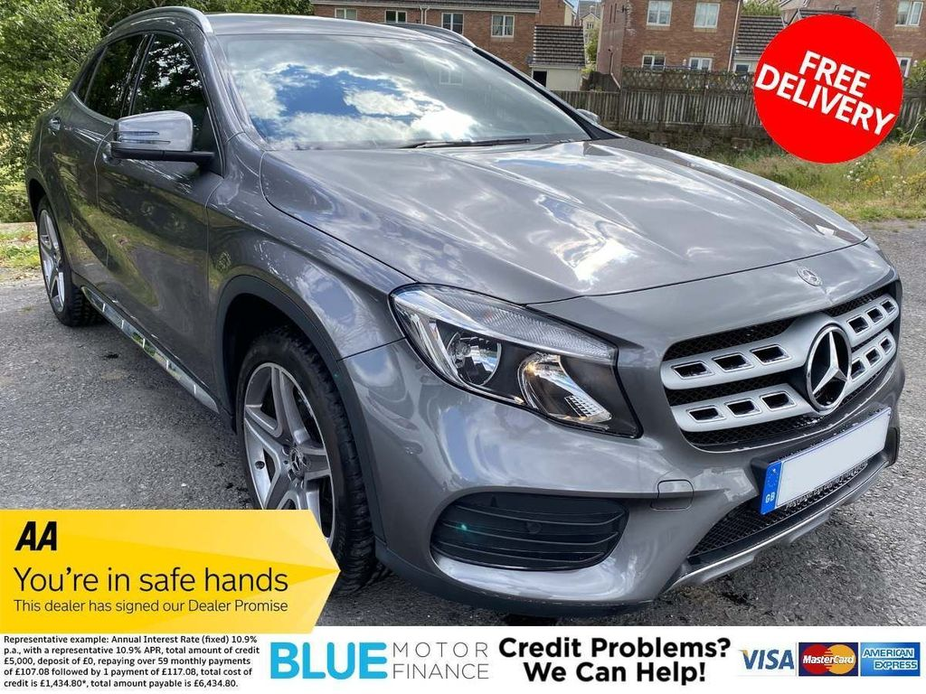 Mercedes-Benz GLA Class SUV 2.1 GLA220d AMG Line 7G-DCT 4MATIC (s/s) 5dr