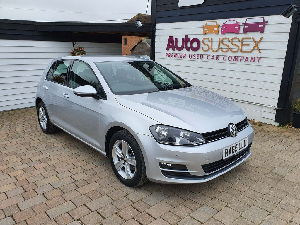 Volkswagen Golf Hatchback 1.6 TDI BlueMotion Tech Match DSG (s/s) 5dr