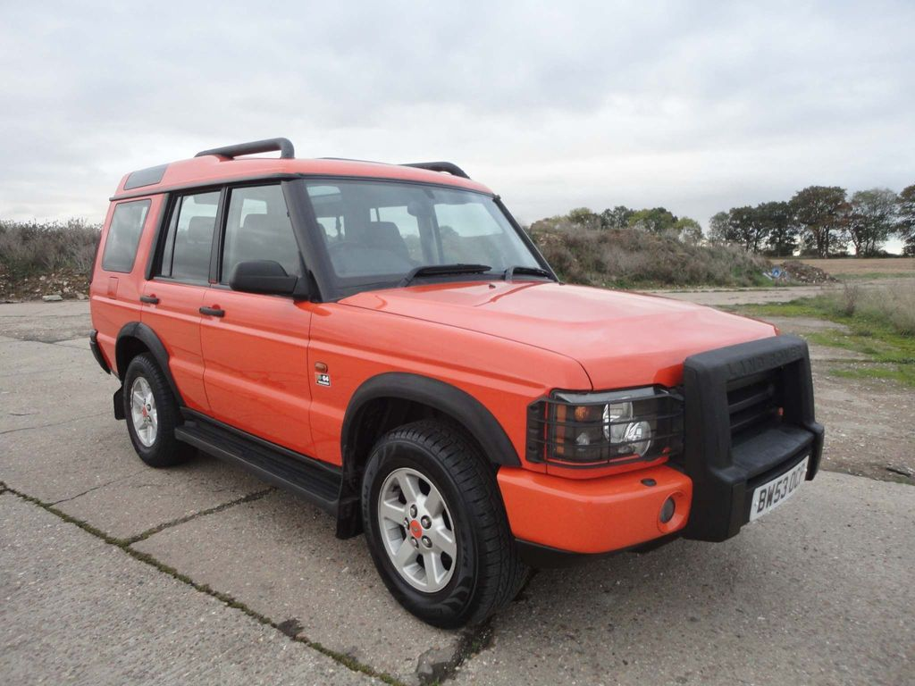 Land Rover Discovery SUV 2.5 TD5 G4 Challenge Limited Edition 5dr (7 Seats)