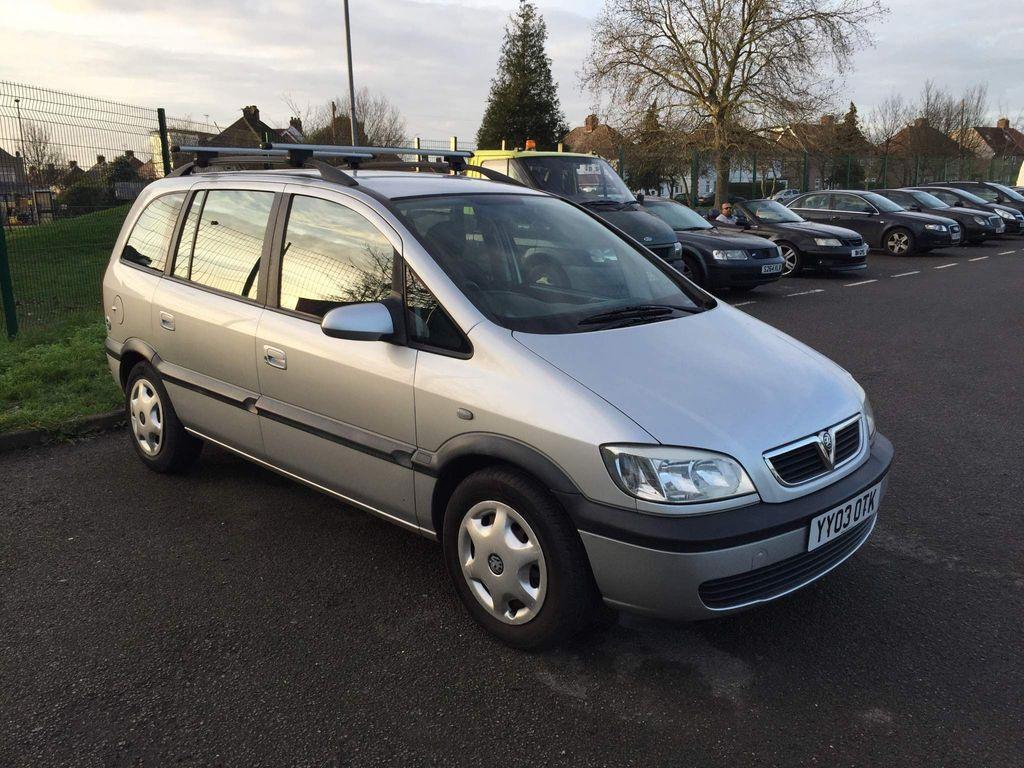 Vauxhall Zafira MPV 1.6 i LPG 16v Design 5dr